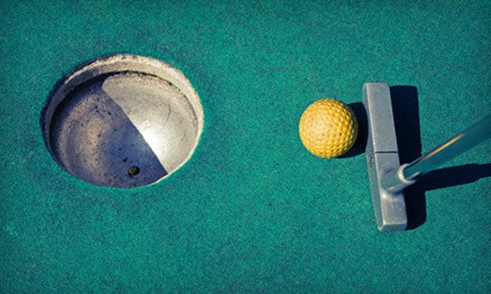 Wedges 'N Woods - Cambridge: 18-Hole Miniature Golf Outing for Two, Four, or Six at Wedges 'N Woods in Cambridge (Up to 66% Off)