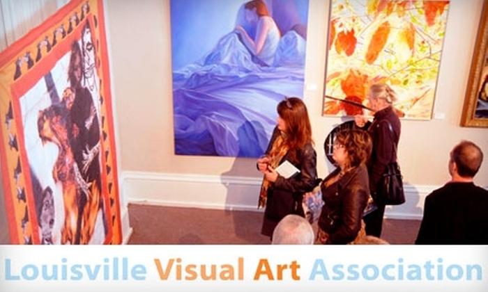 Louisville Visual Art Association - East Louisville: One-Year Membership at Louisville Visual Art Association. Choose an Individual or Family Membership.