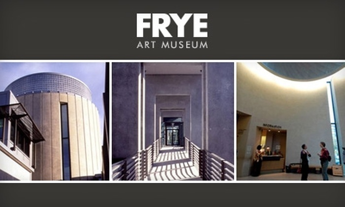 Frye Art Museum - First Hill: Membership to the Frye Art Museum on First Hill. Family/Dual or Individual Memberships Available.