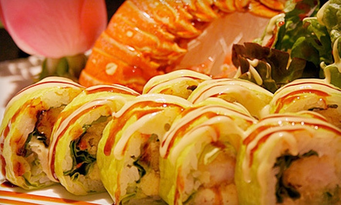 Dao Sushi and Thai Restaurant - Burr Ridge: $15 for $30 Worth of Asian Dinner Cuisine at Dao Sushi and Thai Restaurant in Burr Ridge. Two Options Available.