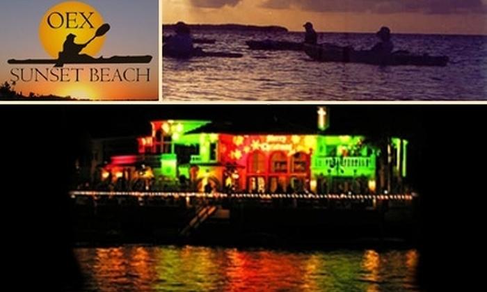 OEX Sunset Beach - Huntington Beach: $25 for Huntington Harbor Holiday Kayak Tour with OEX Sunset Beach ($55 Value)