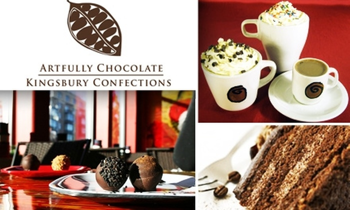 ACKC Cocoa Gallery - Del Ray: $10 for $20 Worth of Hot Chocolate, Desserts, and Other Sweet Treats at ACKC Cocoa Gallery