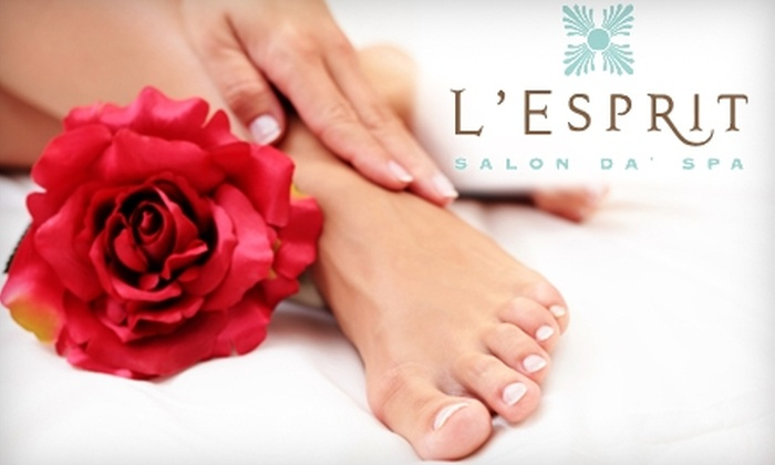 L'Esprit Salon Da' Spa - Montgomery: $30 for Kérastase Conditioning Treatment ($60 Value) or Classic Mani-Pedi ($65 Value) at L'Esprit Salon Da' Spa