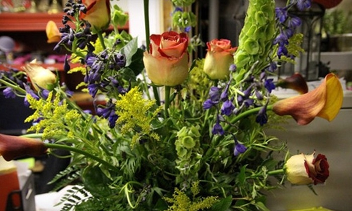 The Rustic Courtyard - Hondo: $15 for $30 Worth of Floral Arrangements at The Rustic Courtyard in Hondo
