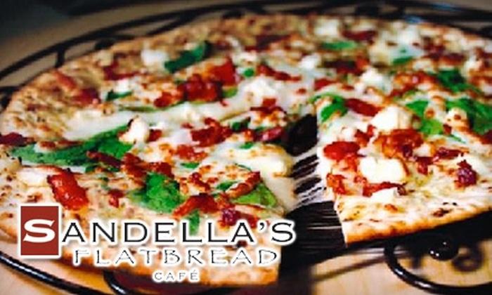Sandella's - Raleigh / Durham: $7 for $15 Worth of Flatbread and More at Sandella's in Durham