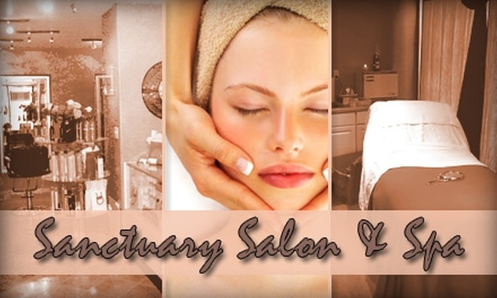 Sanctuary Salon & Spa - Central Business District - Downtown: $75 Worth of Rejuvenating Skin Services at Sanctuary Salon & Spa