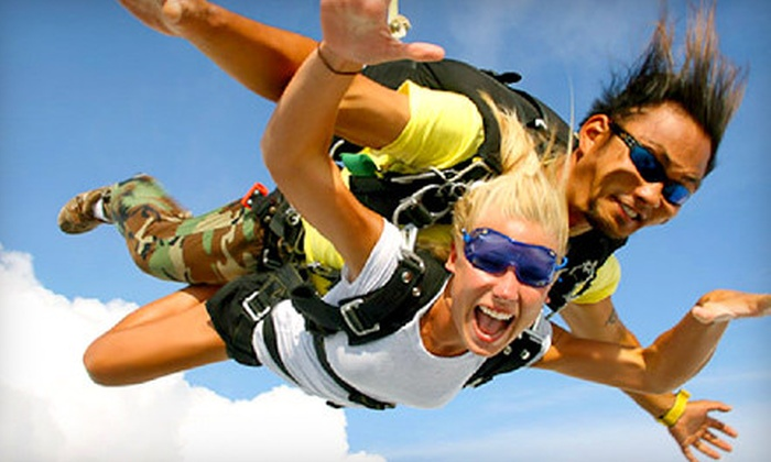 Skydive Indianapolis - Center: Tandem Skydive Jump on a Weekday or Weekend from Skydive Indianapolis in Frankfort (Up to Half Off)
