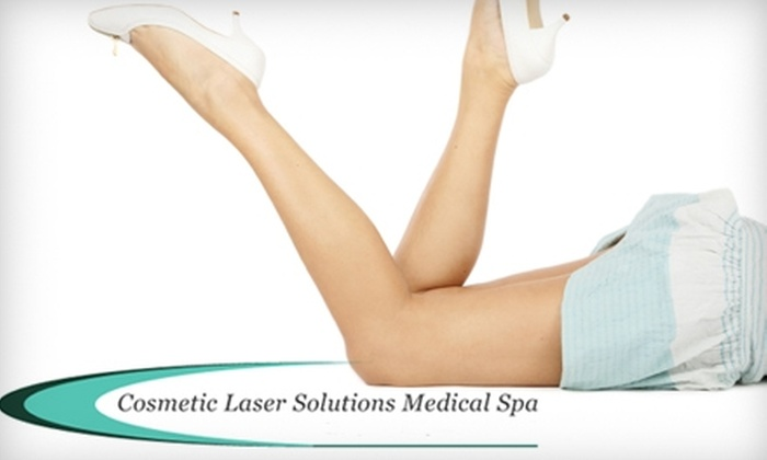 Cosmetic Laser Solutions - Pawtucket: $250 for Two Noninvasive Laser Liposuction Treatments at Cosmetic Laser Solutions in Pawtucket ($800 Value)