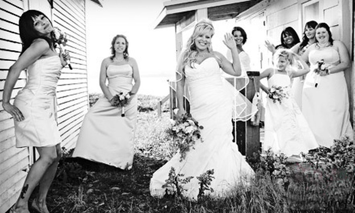 Kays Photography - Lower Sackville: Engagement or Wedding Photography Package from Kays Photography (Up to 70% Off). Four Options Available.