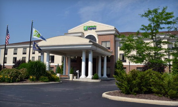 Holiday Inn Express Hotel & Suites Kent State University - Kent: One-Night Stay at Holiday Inn Express Hotel & Suites Kent State University (Up to 56% Off). 15 Dates Available. Combine Up to Four Nights.