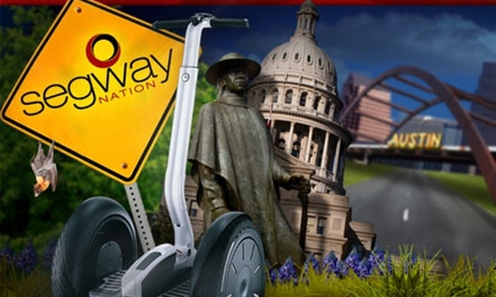 "Segway Nation - Downtown: $50 for a Ride ""It"" Tour from Segway Nation"