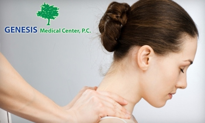 Genesis Medical Center - Central Indianapolis: $39 for Initial Chiropractic Exam and 30-Minute Massage at Genesis Medical Center