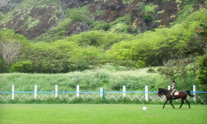 Koko Crater Stables - Hawaii Kai: $37 for a One-Hour Koko Crater Horseback Trail Ride at Koko Crater Stables ($75 Value)