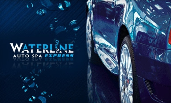 Waterline Auto Spa - Glassboro: $24 for Three Full Service Plus Car Washes at Waterline Auto Spa