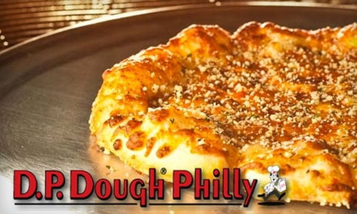 D.P. Dough Philly - Spruce Hill: $7 for $15 Worth of Calzones, Wings, Drinks, and More at D.P. Dough Philly