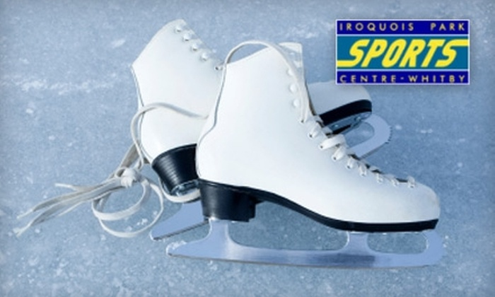 Iroquois Park Sports Centre - Whitby: $4 for Two Adult Ice-Skating Admissions at Iroquois Park Sports Centre ($9.70 Value)