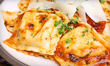 Dinner for Two or Italian Food for Four or More at Casanova Italian Restaurant (Up to 56% Off)
