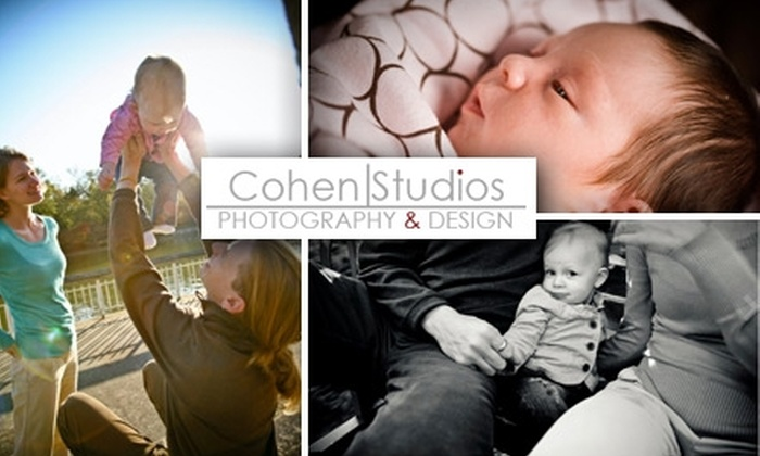 Max Cohen Studios - Central Raleigh: $59 for a Family Portrait Session, Five 5x7 Prints, and One 11x14 Print From Max Cohen Studios