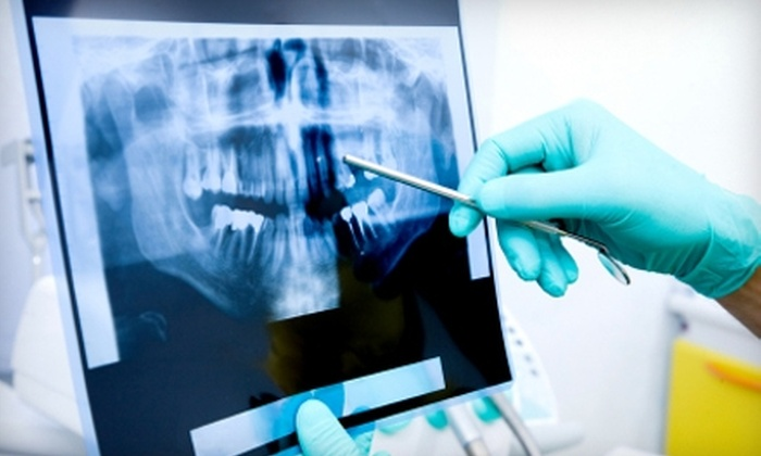American Dental Centers - Multiple Locations: $59 for a Standard Cleaning, Comprehensive Exam, and X-Rays at American Dental Centers ($278 Value)