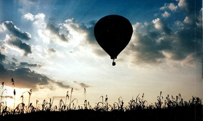 Air Ventures Hot Air Balloon Flights - Glenmoore: $149 for a Souvenir Flight Package from Air Ventures Hot Air Balloon Flights in Glenmoore ($249 Value)