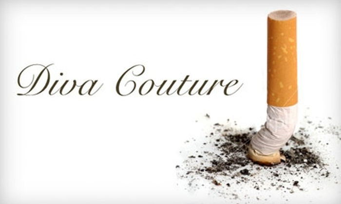Diva Couture Salon and Spa - Oakville: $99 For a Laser Smoking Cessation Treatment at Diva Couture Salon and Spa ($299 Value)