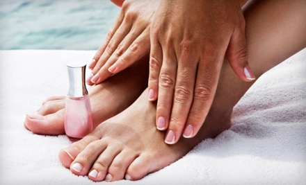 Deluxe Mani-Pedi (a $70 value) - Get Nailed in Wasilla