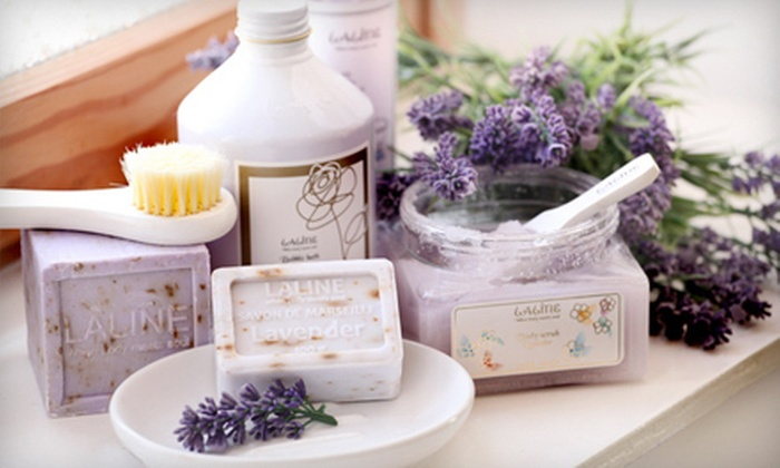 Laline - Creekside: $19 for $40 Worth of Aromatic Bath and Body Products at Laline in Roseville