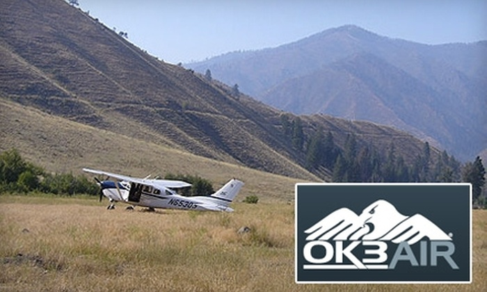 Utah Scenic Flights - Heber: $85 for Flight Experience with Ok3Air
