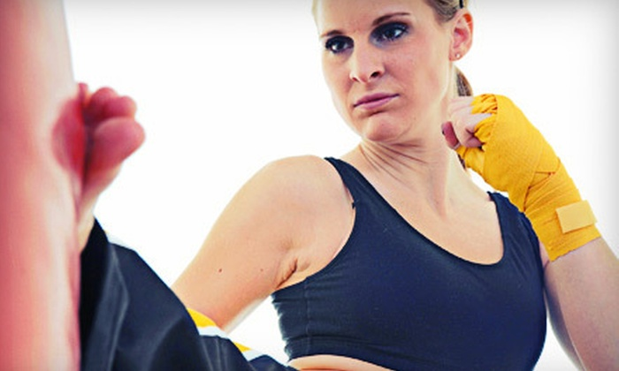 Tiger's Den Martial Arts & Fitness - Multiple Locations: Martial Arts Classes or Kids' Summer Camp at Tiger's Den Martial Arts & Fitness (Up to 87% Off). Five Options Available.