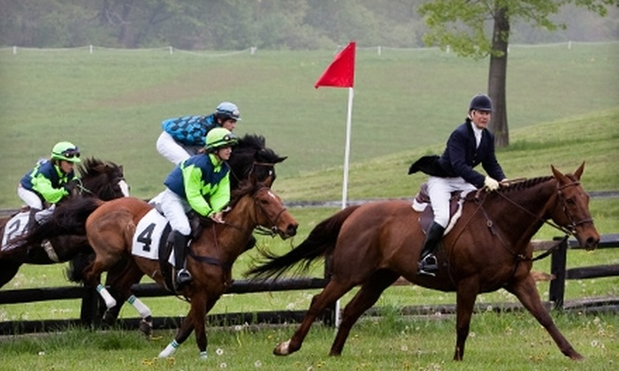 Maryland Junior Hunt Cup - 8: Half Off Admission to the Maryland Junior Hunt Cup at Shawan Downs in Cockeysville on May 1. Three Options Available.