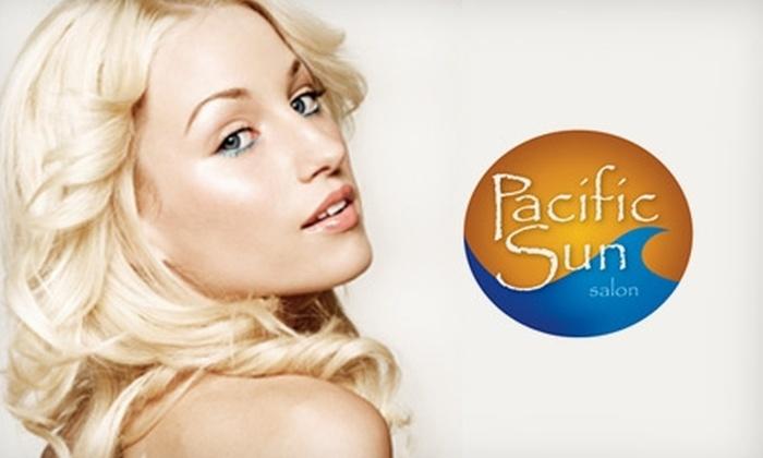 Pacific Sun Salon - Hampton Roads: $25 for $55 Worth of Salon Services at Pacific Sun Salon