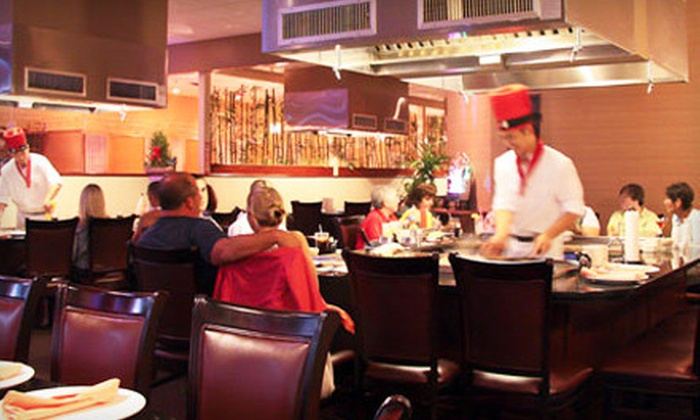 Aikia Steakhouse - Swampscott: Japanese Sushi and Hibachi Fare for Dinner at Aikia Steakhouse (Half Off). Two Options Available.
