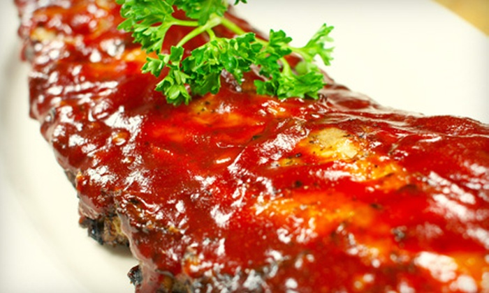 Ribs USA - Burbank: Rib Dinner for Two or Four at Ribs USA in Burbank