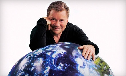 Shatner's World: We Just Live in It on Thurs., April 12 at 7:30PM: Back Mezzanine - Shatner's World: We Just Live in It in St. Louis