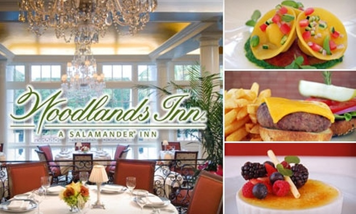 The Dining Room - Summerville: $25 for $50 Worth of Fine New-American Cuisine and Drinks from The Dining Room at Woodlands Inn in Summerville