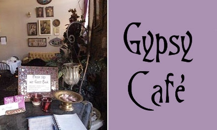Gypsy Café - Southside Flats: $15 for $30 Worth of Worldly Cuisine at the Gypsy Café