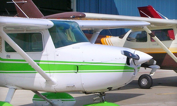 Fly Kalamazoo - Kalamazoo: 10-Week Ground Flight Class Package or Introductory Flight Lesson at Fly Kalamazoo (Up to Half Off)