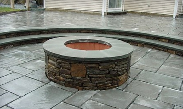 Awesome Landscape Design - Multiple Locations: $299 for $1,000 Toward Stonemasonry Services or $1,800 for a Custom Outdoor Fire Pit ($2,800 Value) from Awesome Landscape Design