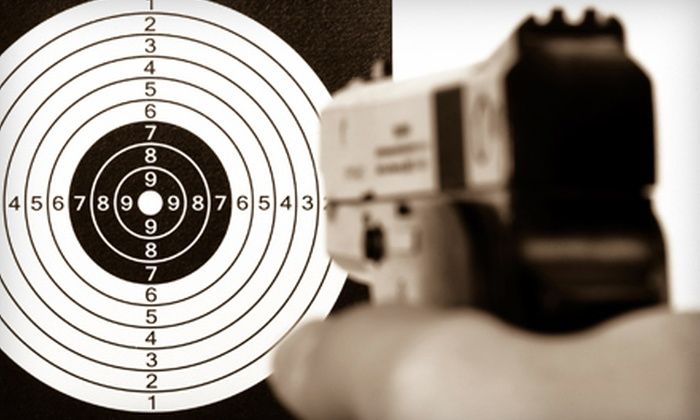 Rigger Arms - Anderson Creek: Basic Pistol Shooting Class or Personal Protection In the Home Class at Rigger Arms in Anderson Creek (Up to 67% Off)