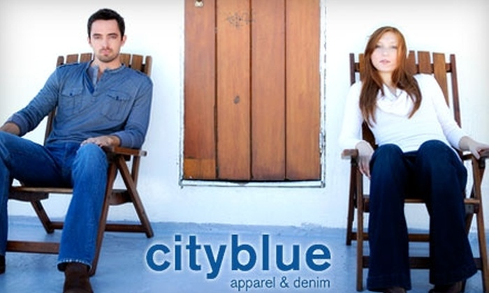 cityblue apparel & denim - Near North Side: $45 for $100 Worth of Designer Denim and More at cityblue apparel & denim