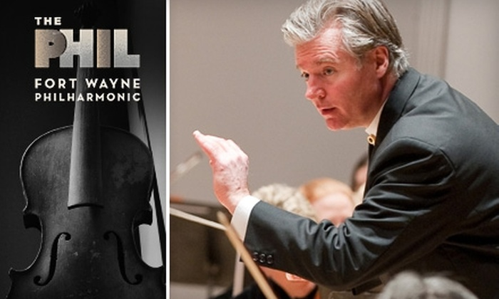 Fort Wayne Philharmonic - Fort Wayne: $9 for Lincoln Financial Foundation Signature Series Casual Concert from Fort Wayne Philharmonic ($18 Value). Choose from Four Concerts.