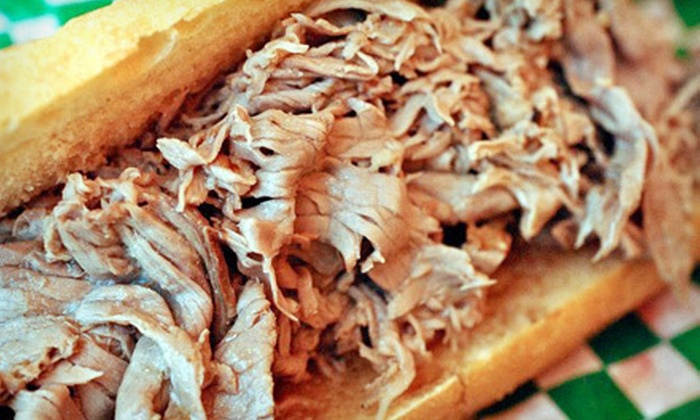 Little Joe's Italian Beef - South Winds Mobile Home Park: $10 for $20 Worth of Sandwiches and Hot Dogs at Little Joe's Italian Beef in Sarasota