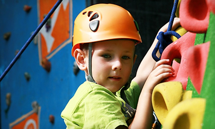 Kaleidoscope Children's Museum - Tulsa: Admission and Unlimited Rock Climbing for Two or Birthday Bash Party at Kaleidoscope Children's Museum