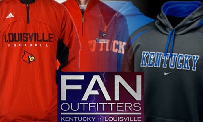 Fan Outfitters - Multiple Locations: $10 for $20 Worth of Merchandise at Fan Outfitters