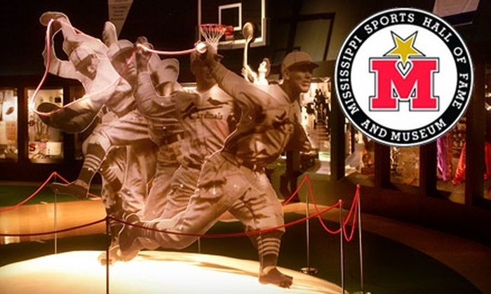 Mississippi Sports Hall of Fame and Museum - Jackson: $5 for Two Adult Tickets ($10 value) or $40 for a Family Membership ($100 value) to the Mississippi Sports Hall of Fame and Museum