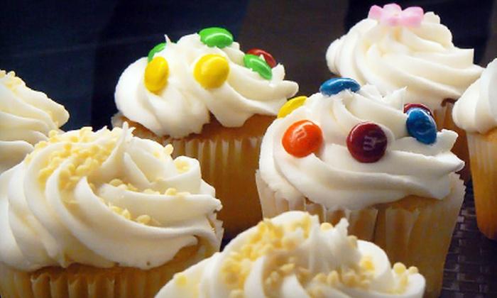 Bake Me a Cake - Orlando: Six Macaroons or One Dozen Small Cupcakes at Bake Me a Cake in Altamonte Springs