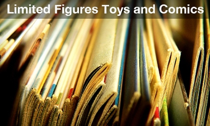 Limited Figures - Park Forest: $10 for $20 Worth of Comic Books, Action Figures, and More at Limited Figures