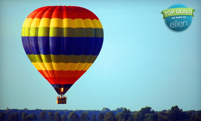 Sundance Balloons - Byward Market - Parliament Hill: Hot Air Balloon Ride on a Weekday Morning, Weekday Evening, or Anytime from Sundance Balloons (Up to 51% Off)