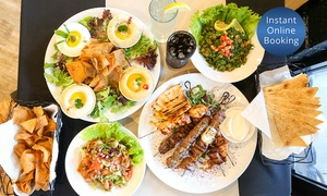 Anater Lebanese Restaurant: Lebanese Feast for Two ($49), Four ($98) or Six People ($147) at Anater Lebanese Restaurant (Up to $327 Value)