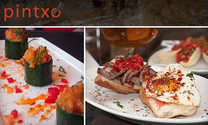 Pintxo - Belltown: $20 for $40 Worth of Tapas and Drinks at Pintxo